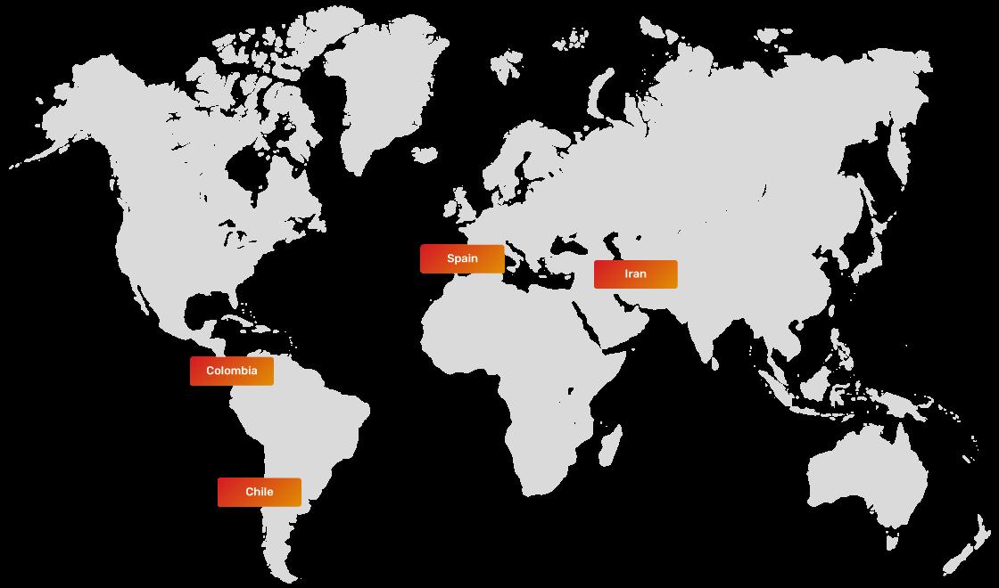 JSC Ingenium - Technology: TaaS - International presence