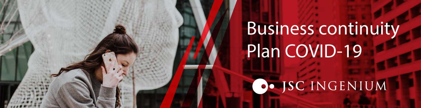 JSC Ingenium - News: Business Continuity Plan COVID-19