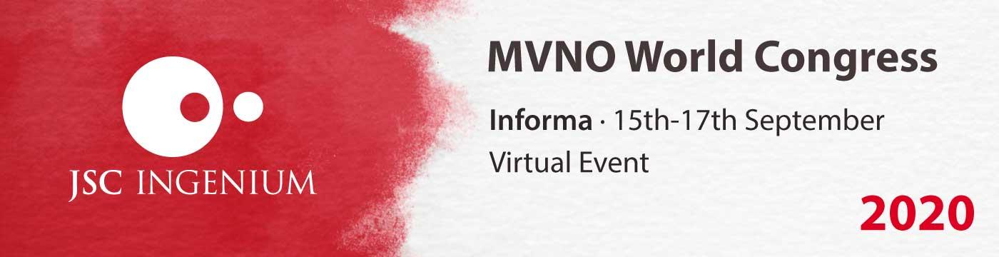 JSC Ingenium - News: Event MVNO World Congress 2020